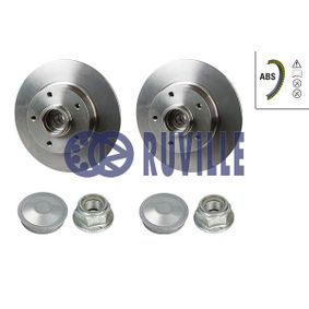 Brake Disc 5513BD RUVILLE Secure payment — only new parts