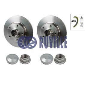 Brake Disc 5515BD RUVILLE Secure payment — only new parts