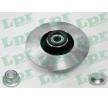 LPR Disco freno R1005PCA
