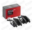 ALFA ROMEO 147 1.6 16V T.SPARK (937AXB1A) 120 CV STARK ricambi auto - Kit pastiglie freno, Freno a disco SKBP-0011099