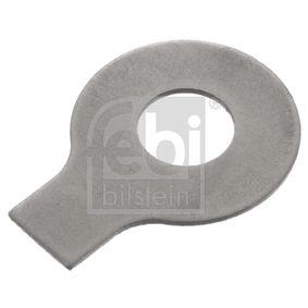 Plaque de retenue, axe de mâchoire de frein FEBI BILSTEIN 06457 à acheter avec 30% de réduction