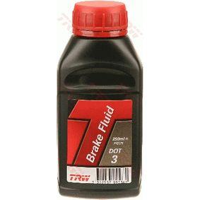 Comprare TRW Liquido freni Qualità DOT 3 PFB325 poco costoso