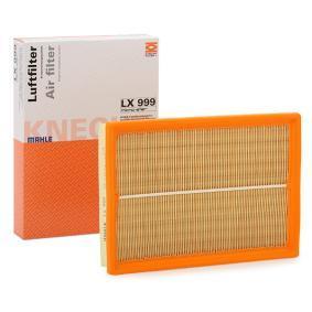 Køb MAHLE ORIGINAL Luftfilter LX 999 billige