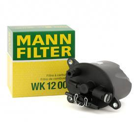 MANN-FILTER Palivový filter WK 12 001 kúpte si lacno
