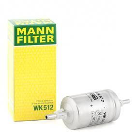 MANN-FILTER Fuel filter WK 512 cheap