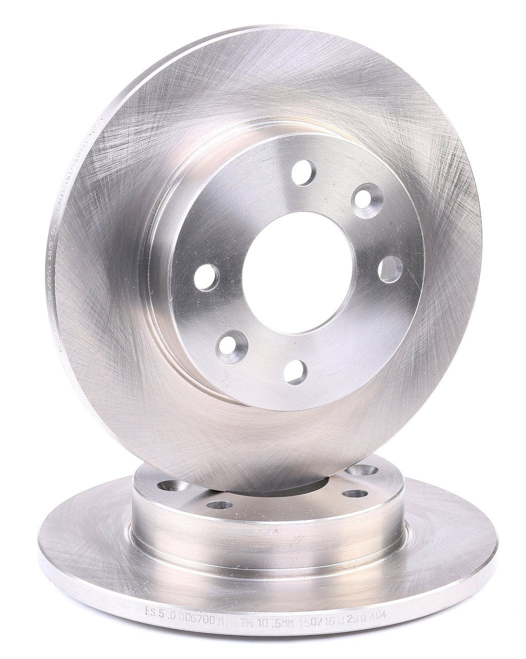 DSX606700 ROADHOUSE Vorderachse, Voll Ø: 238mm, Ø: 238mm, Lochanzahl: 4, Bremsscheibendicke: 12mm Bremsscheibe 6067.00 günstig kaufen