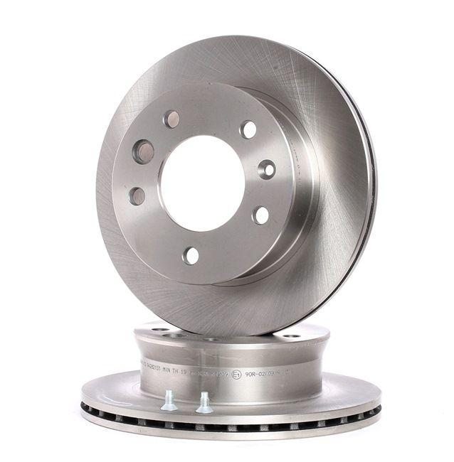 Disque de frein 6461.10 — les meilleurs prix sur les OE A 902 421 04 12 pièces de rechange de qualité supérieure
