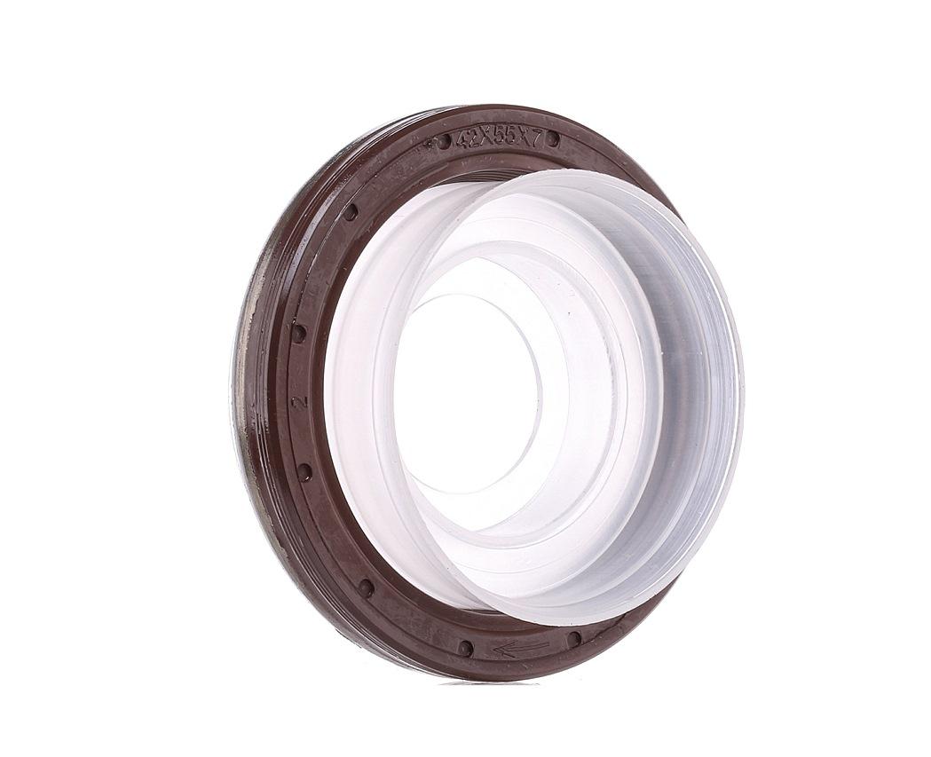 Купете 81-33489-10 REINZ FPM (Флоур-каучук) вътрешен диаметър: 42мм, Ø: 55мм Семеринг, колянов вал 81-33489-10 евтино
