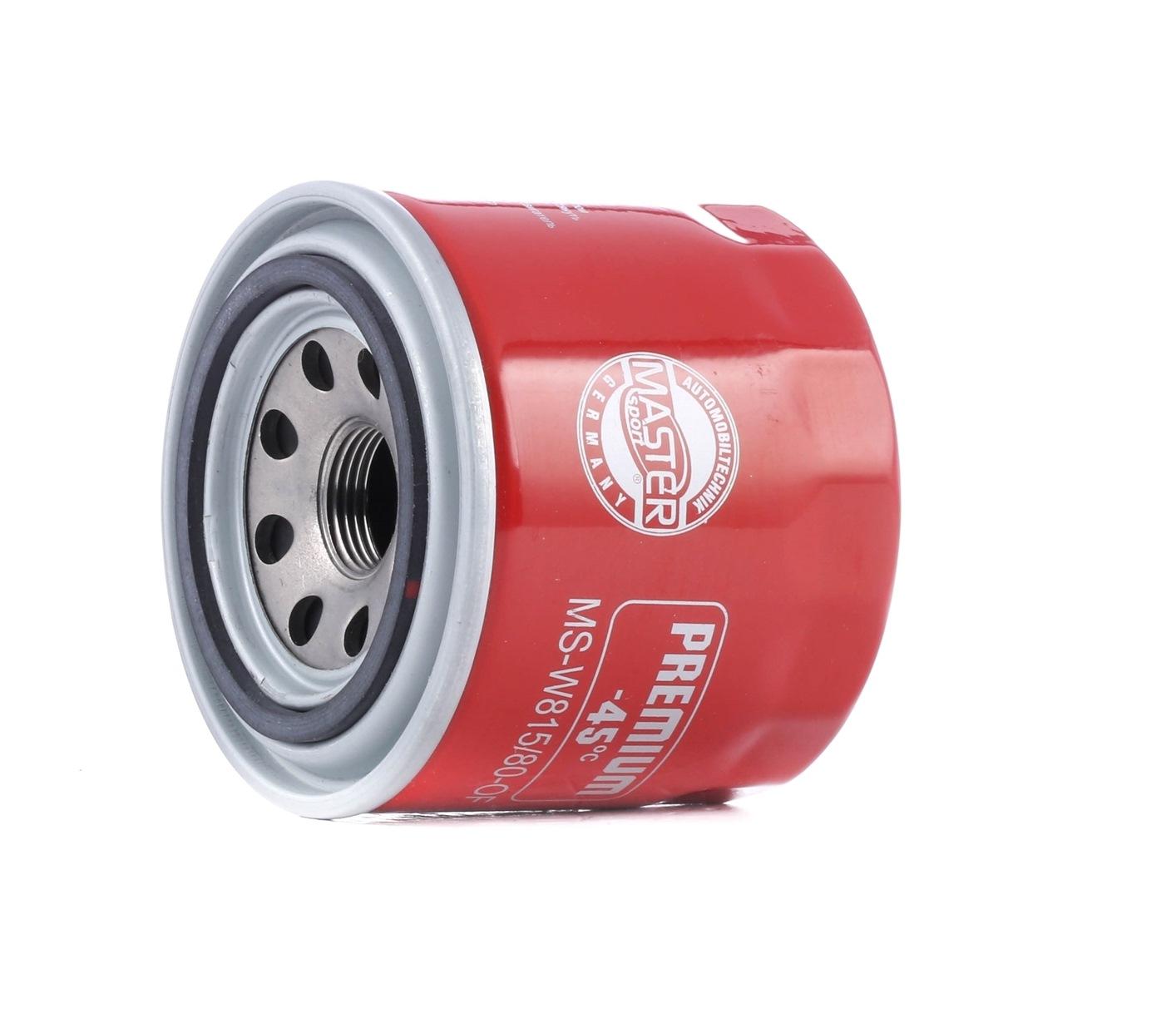 440815800 MASTER-SPORT Filtereinsatz, mit einem Rücklaufsperrventil Innendurchmesser 2: 57mm, Innendurchmesser 2: 57mm, Ø: 82mm, Außendurchmesser 2: 65mm, Höhe: 74mm Ölfilter 815/80-OF-PCS-MS günstig kaufen