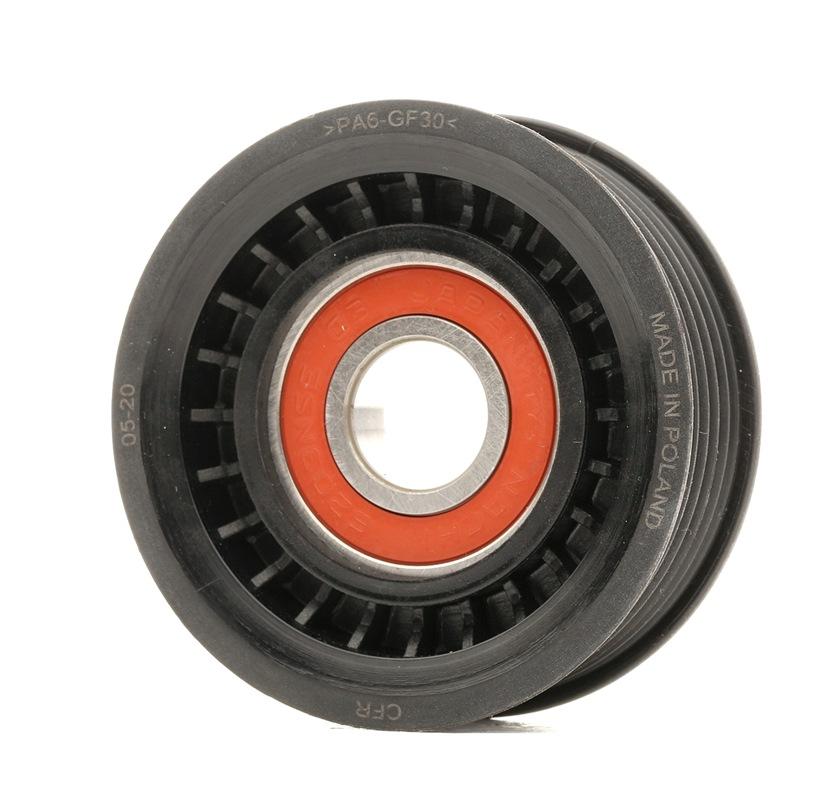 Achat de 84-99 CAFFARO Ø: 69mm Largeur: 22,5mm Poulie-tendeur, courroie trapézoïdale à nervures 84-99 pas chères