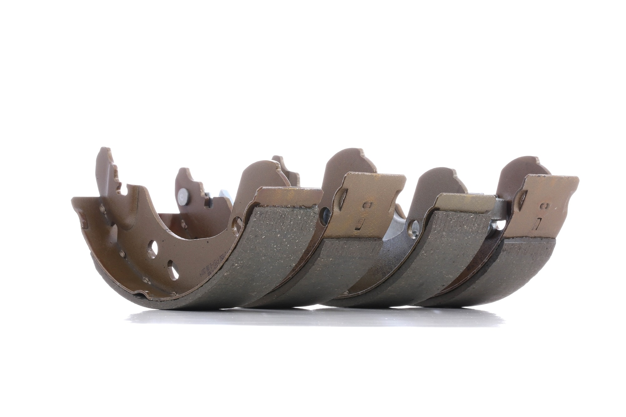 DENCKERMANN Brake Shoes NISSAN,RENAULT B120136 440600X825,44060AX625,D4060AX600 Brake Shoe Set,Brake Lining 7701208357