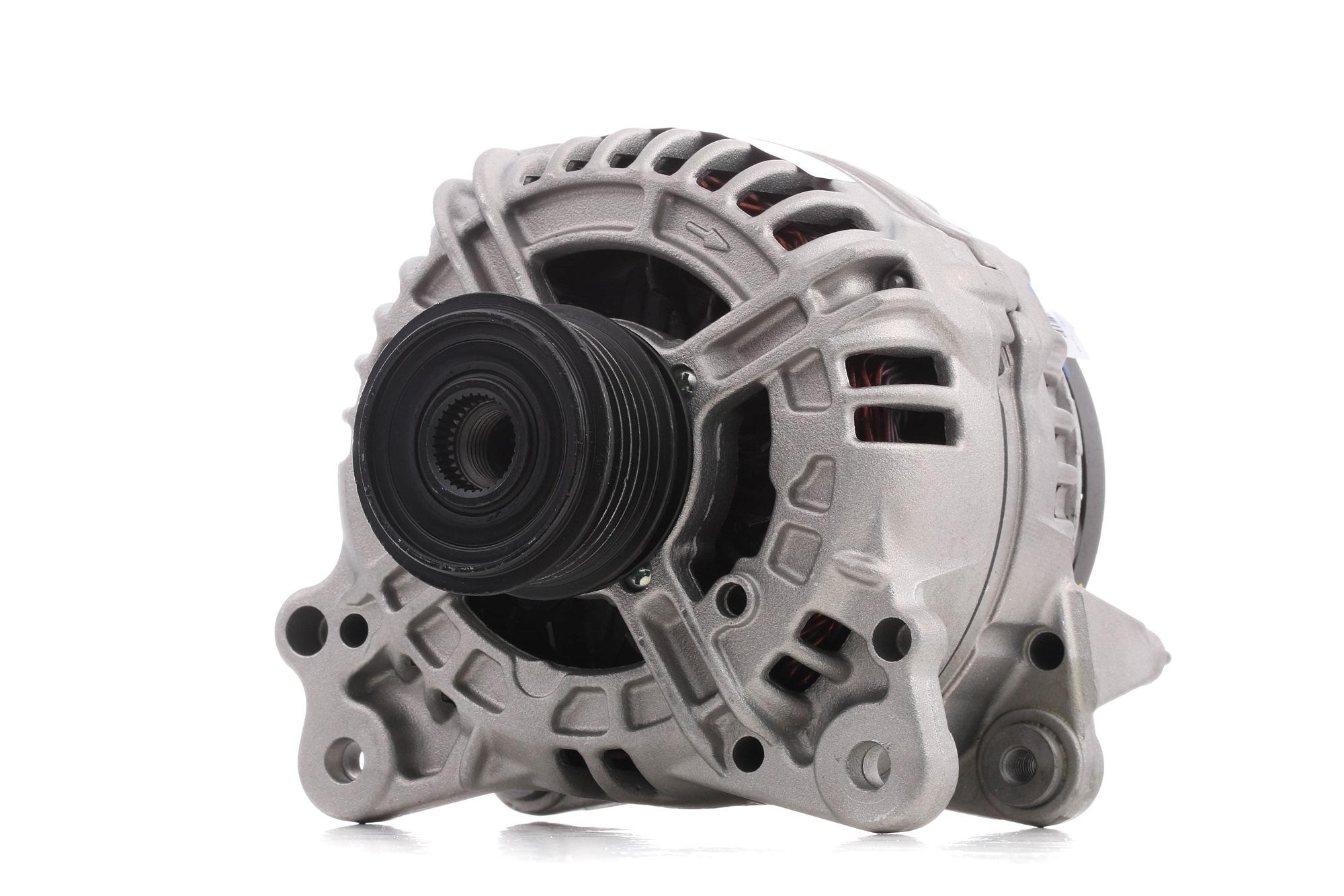 TG14C011 VALEO REMANUFACTURED PREMIUM 14V, 140A, mit integriertem Regler Rippenanzahl: 6 Lichtmaschine 437454 günstig kaufen