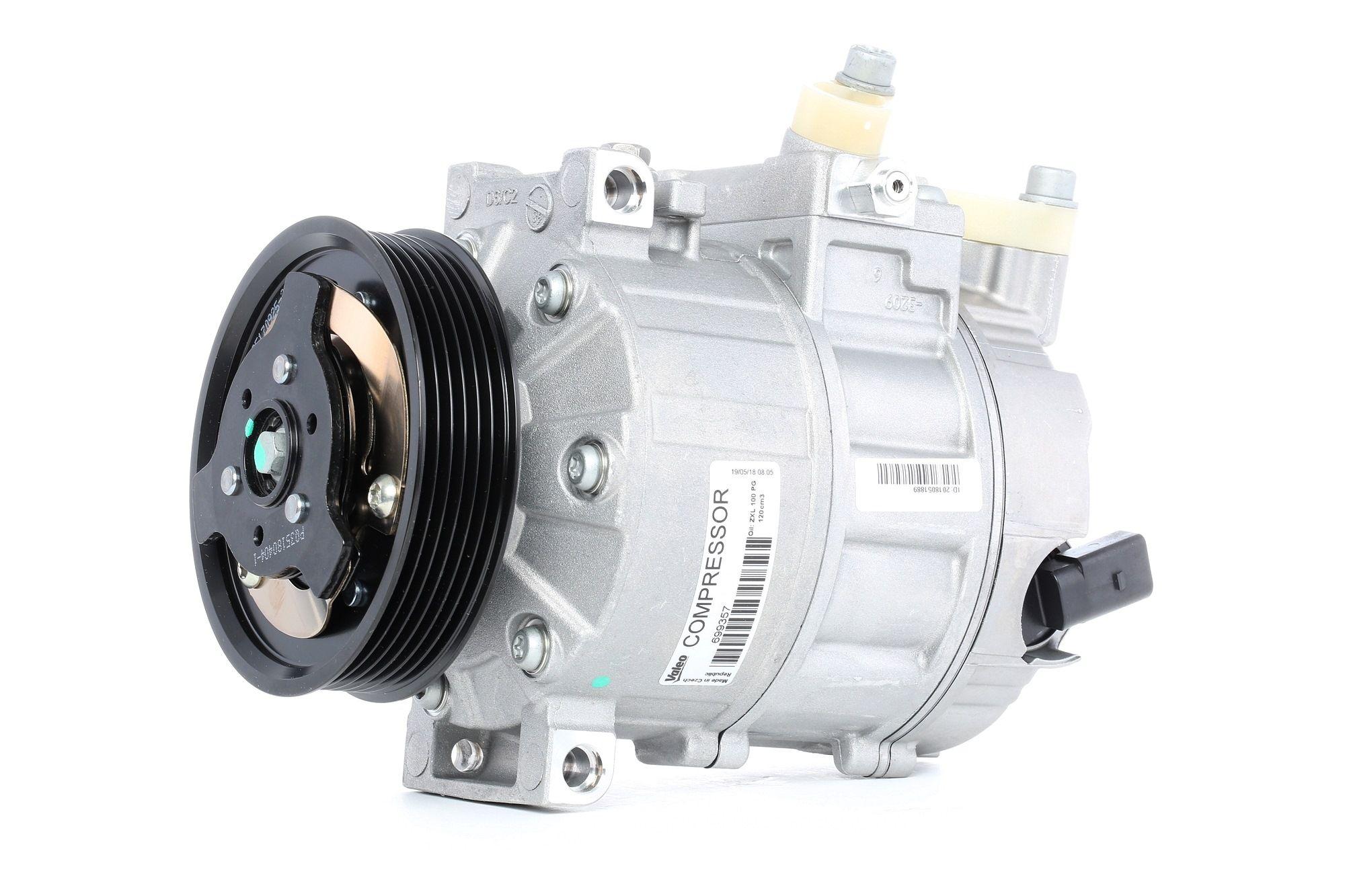 Compresor, aire acondicionado VALEO 699357 - ¡encontrar, comparar los precios y ahorrar!
