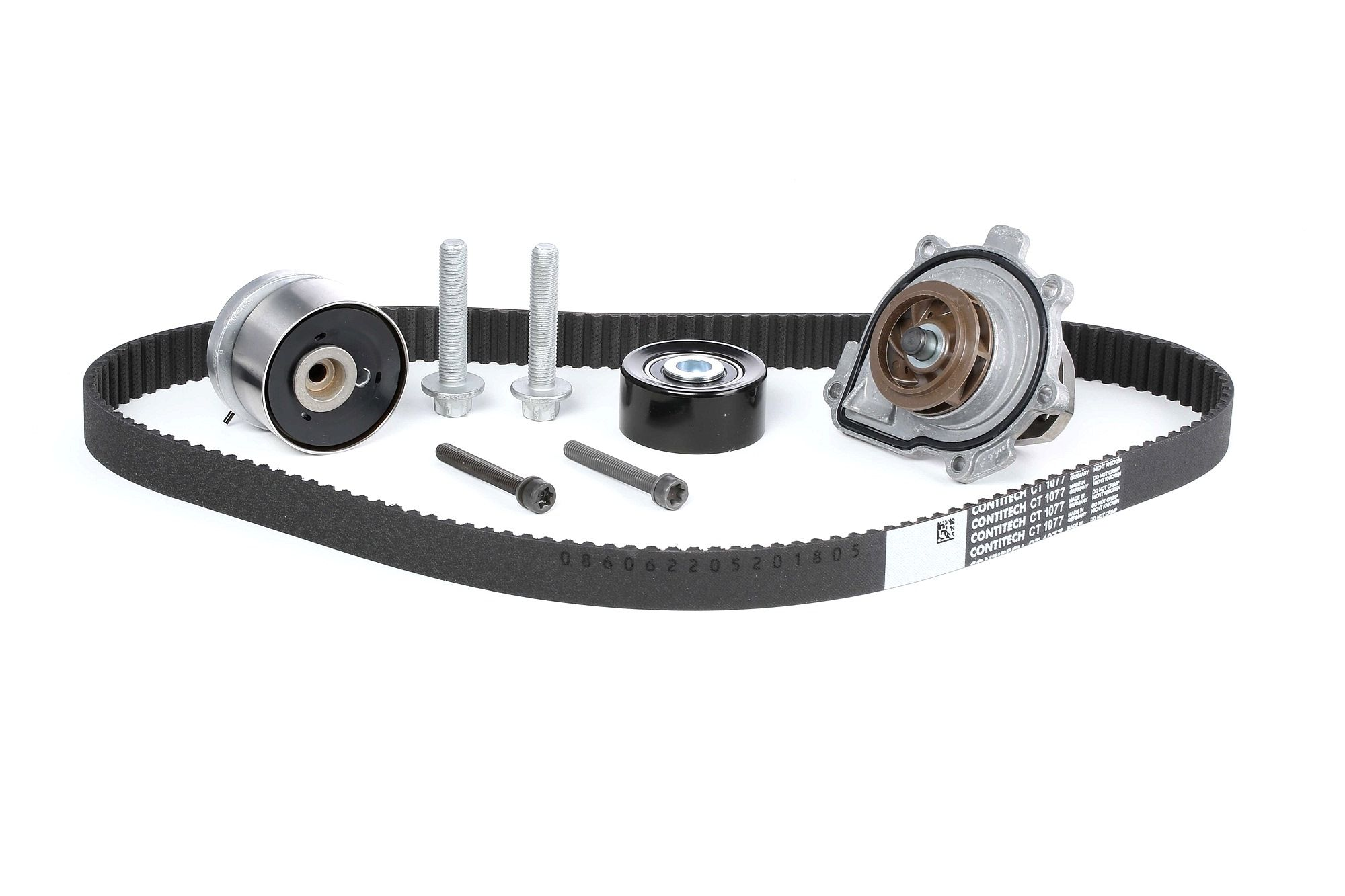 ALFA ROMEO 159 2005 replacement parts: Water pump and timing belt kit CONTITECH CT1077WP2 at a discount — buy now!
