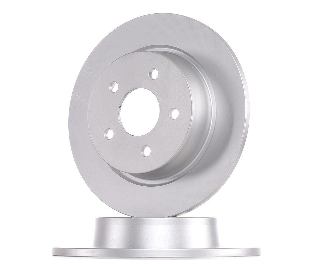 DDF2058C FERODO PREMIER Voll, beschichtet, ohne Zubehör Ø: 280mm, Lochanzahl: 5, Bremsscheibendicke: 11mm Bremsscheibe DDF2058C günstig kaufen