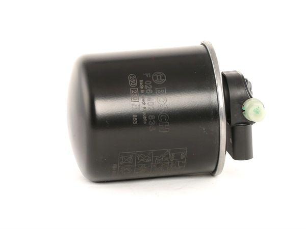 Palivový filtr F 026 402 836 s vynikajícím poměrem mezi cenou a BOSCH kvalitou