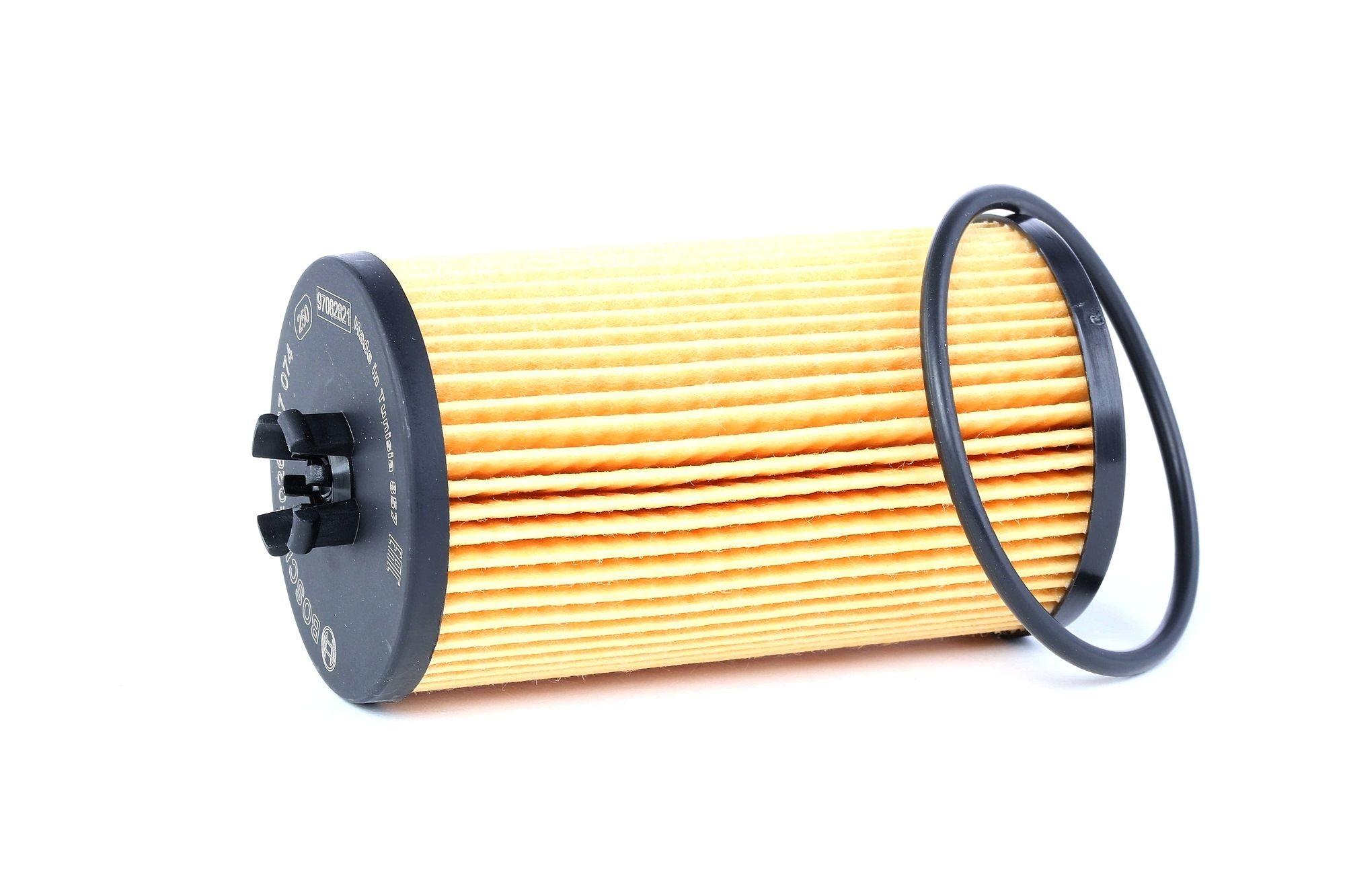 P7074 BOSCH Filtereinsatz, Anschraubfilter Ø: 57mm, Höhe: 107mm Ölfilter F 026 407 074 günstig kaufen