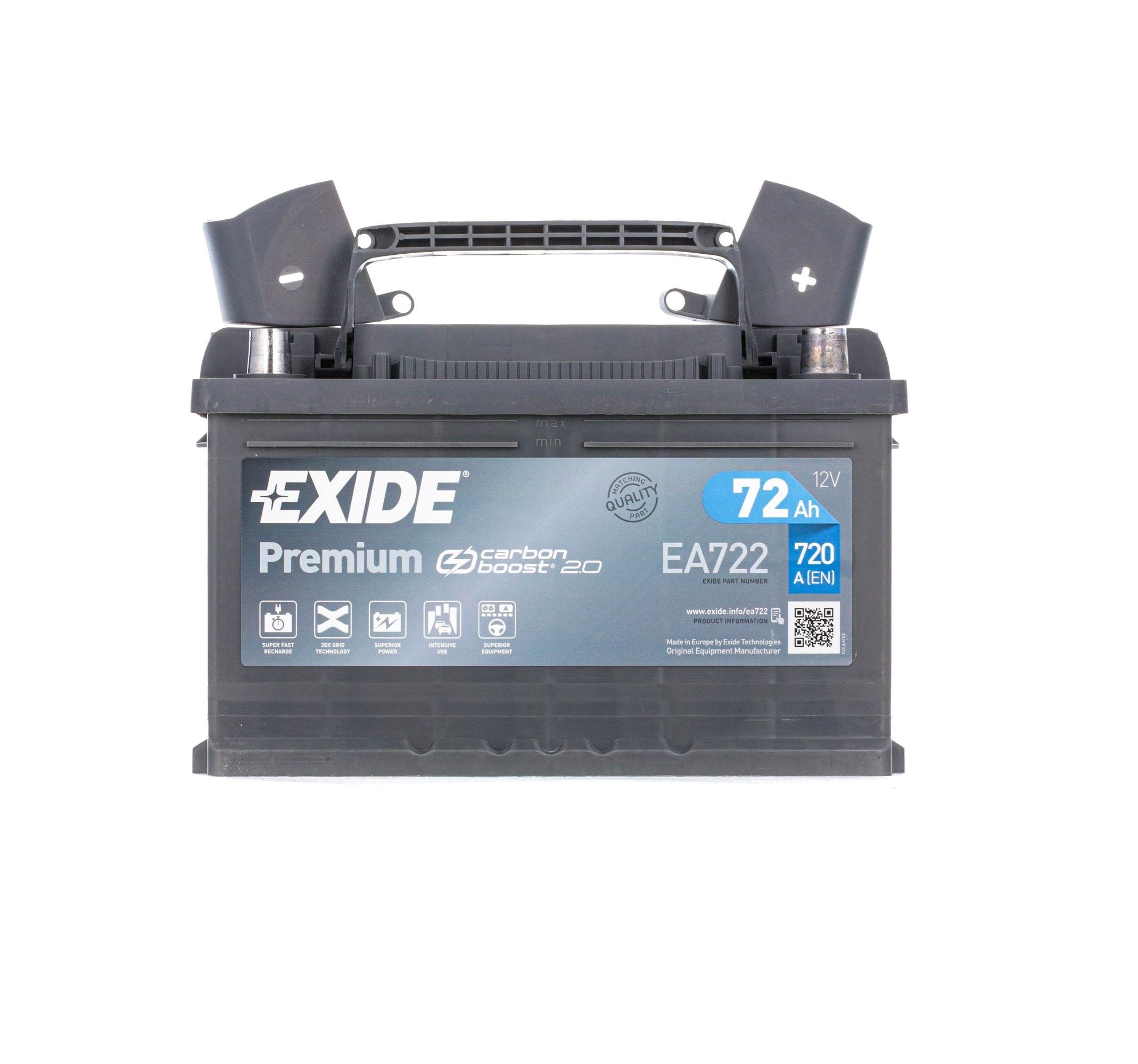 Original BMW Starterbatterie EA722