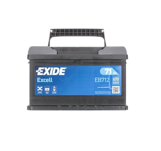 Batterie EB712 Clio III Schrägheck (BR0/1, CR0/1) 1.5 dCi 86 PS Premium Autoteile-Angebot