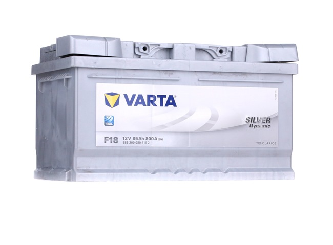 F18 VARTA SILVER dynamic Batterie-Kapazität: 85Ah Kälteprüfstrom EN: 800A, Spannung: 12V, Polanordnung: 0 Starterbatterie 5852000803162 günstig kaufen