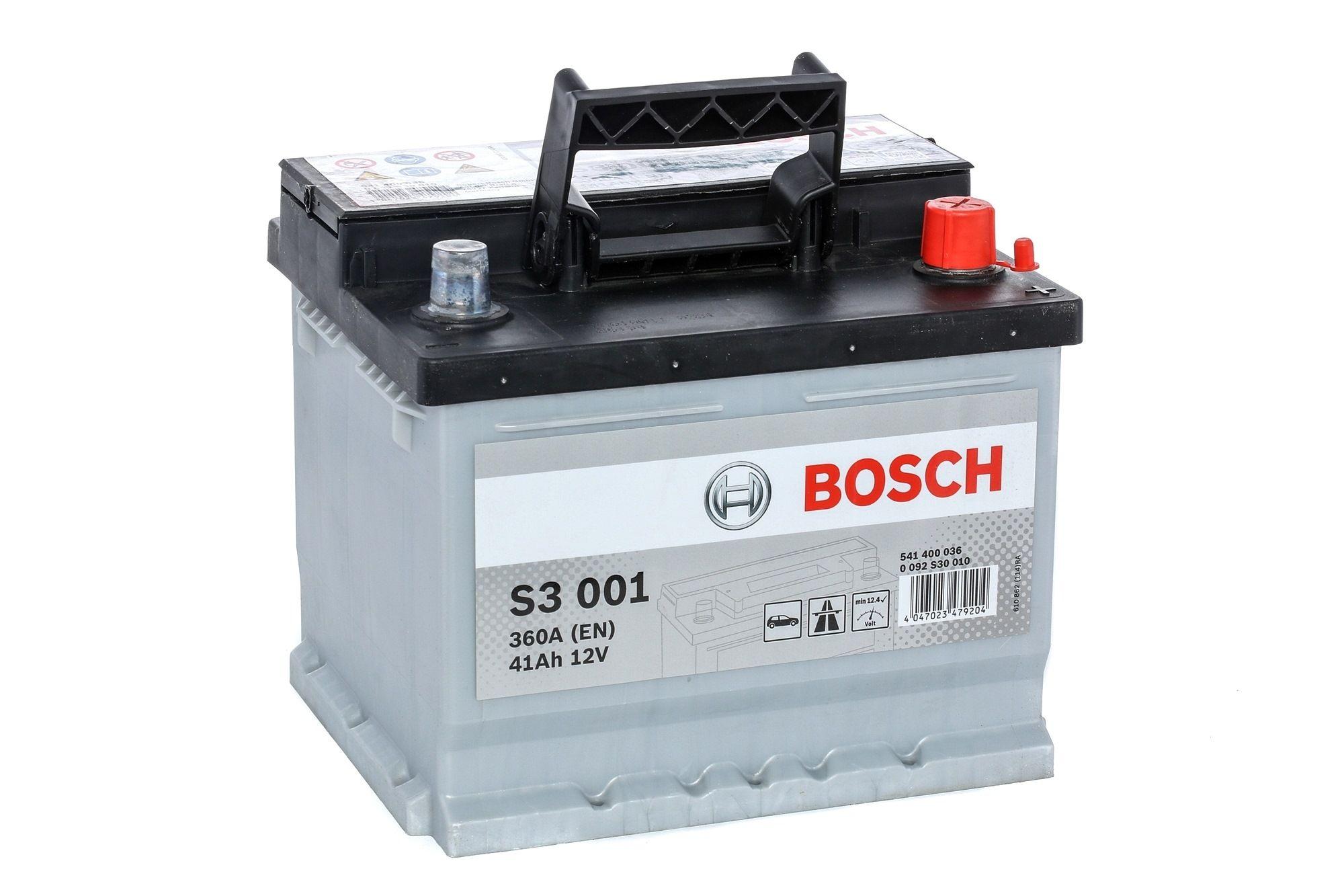 BOSCH: Original Kfz-Elektrik 0 092 S30 010 (Kälteprüfstrom EN: 360A, Spannung: 12V)