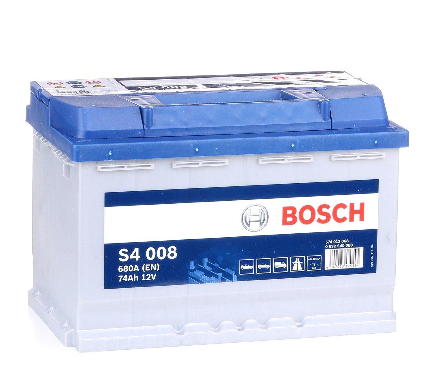 Starterbatterie 0 092 S40 080 günstige Preise - Jetzt kaufen!
