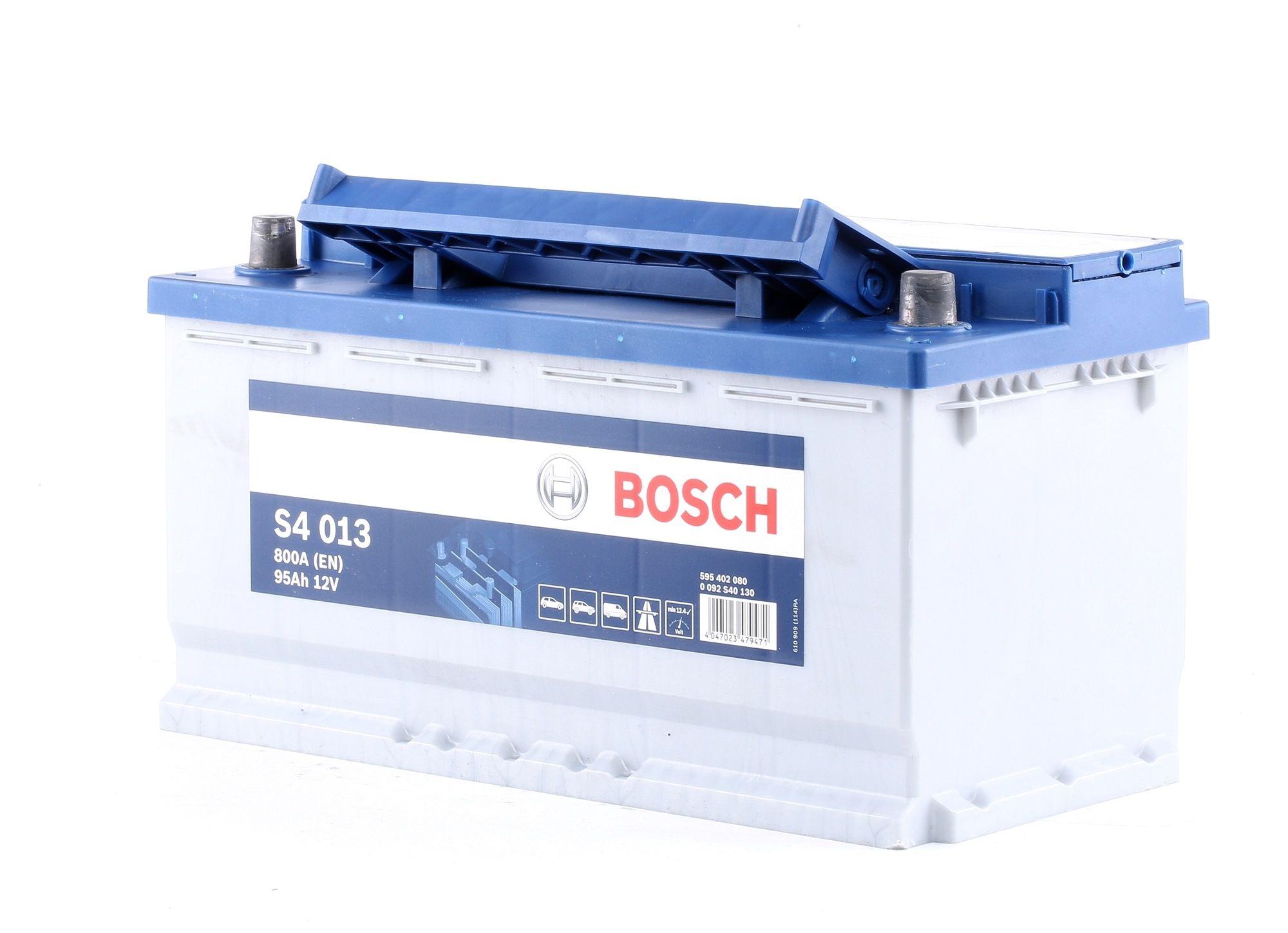 Achetez Système électrique BOSCH 0 092 S40 130 (Courant d'essai à froid, EN: 800A, Volt: 12V, Disposition pôles: 0) à un rapport qualité-prix exceptionnel