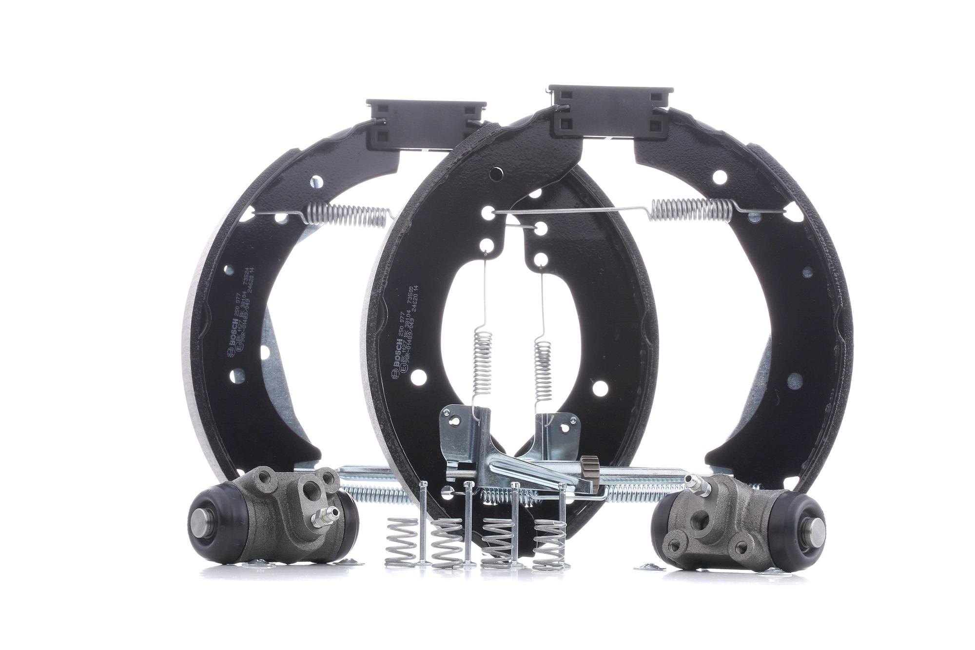 Bremsensatz, Trommelbremse 0 204 114 508 rund um die Uhr online kaufen