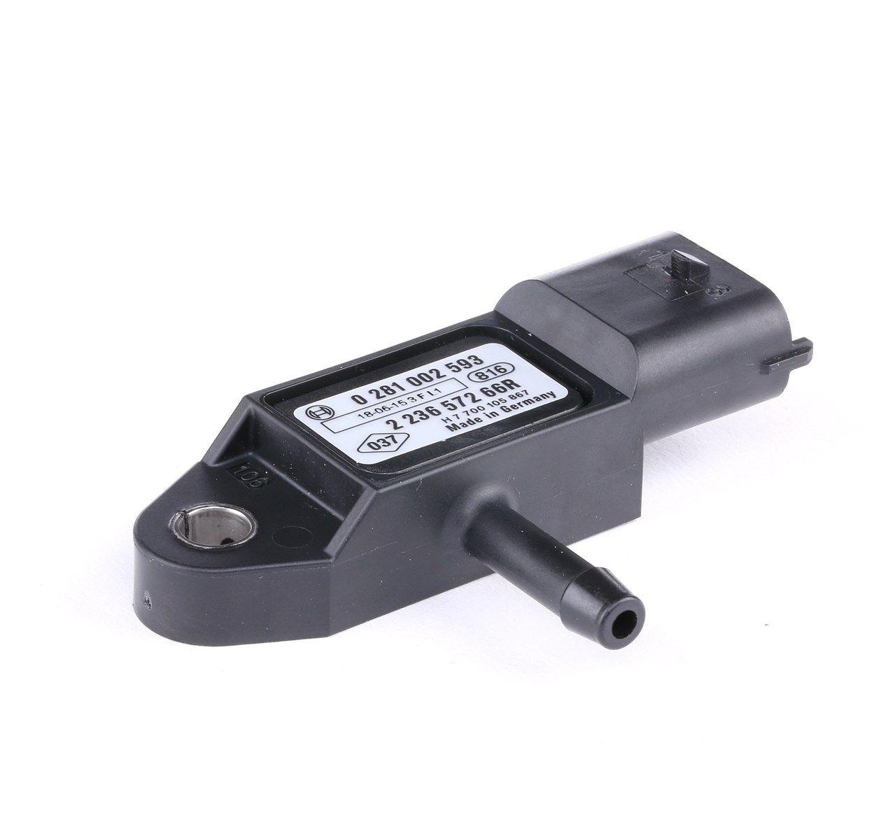 Achetez Capteurs, relais, unités de commande BOSCH 0 281 002 593 () à un rapport qualité-prix exceptionnel