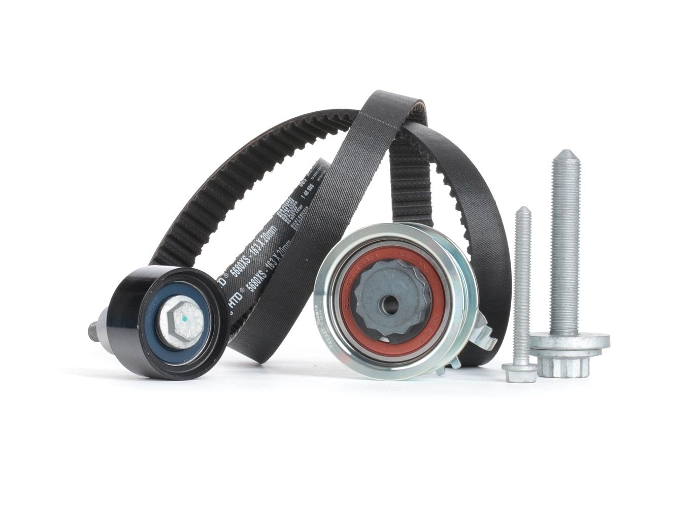 Car spare parts SKODA RAPID 2019: Timing Belt Set GATES K015680XS at a discount — buy now!
