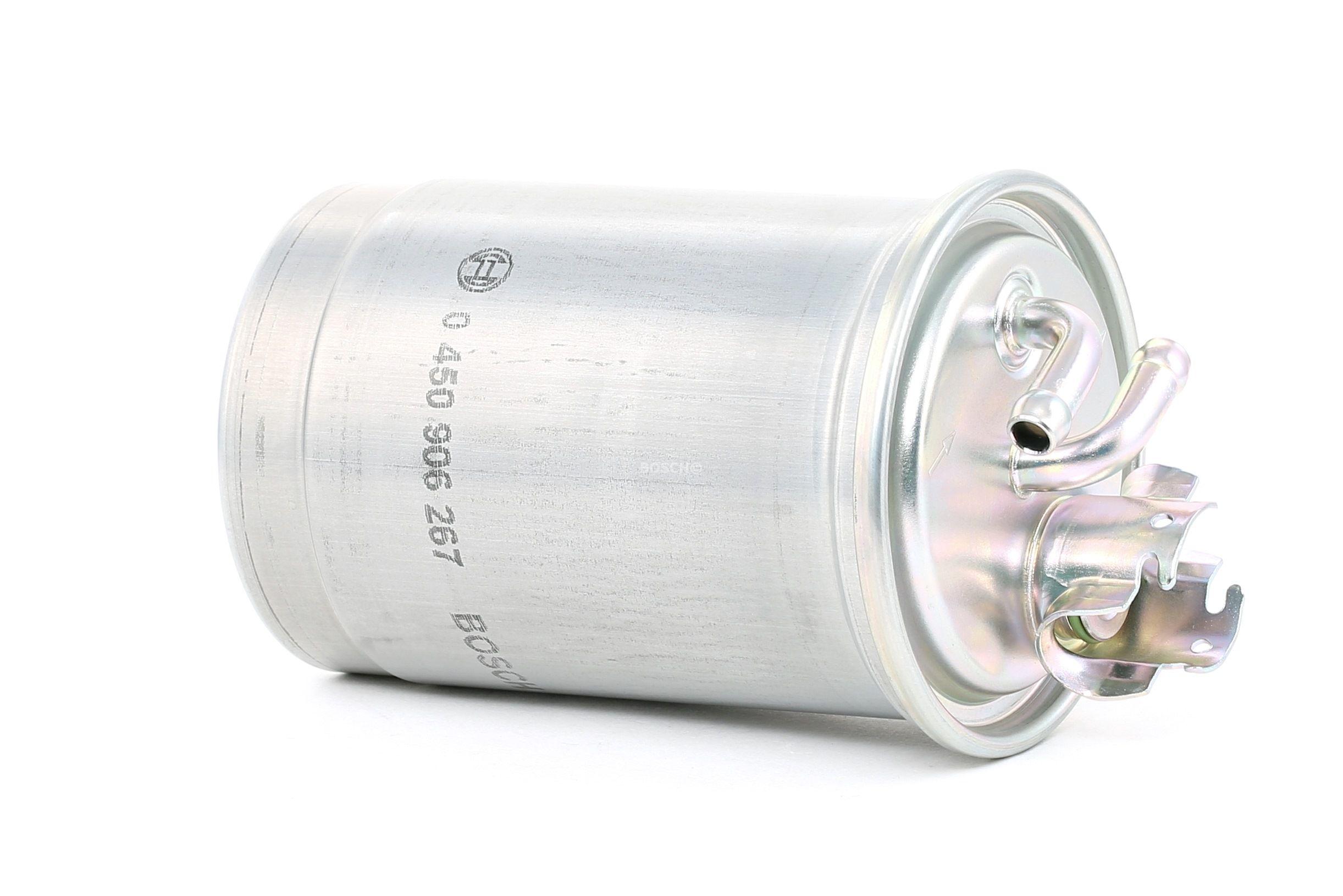 VW POLO 2015 Dieselfilter - Original BOSCH 0 450 906 267 Höhe: 176mm