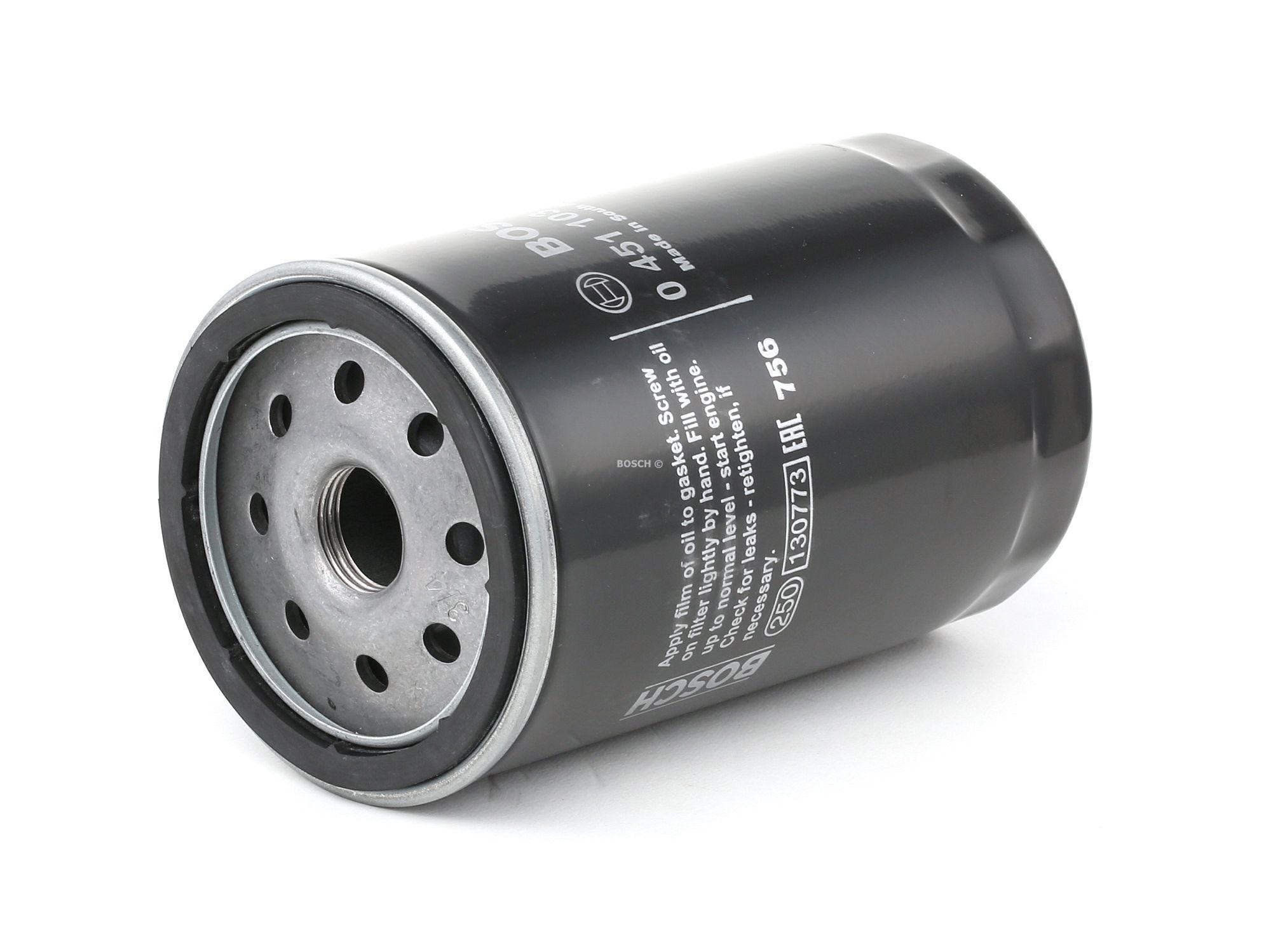 Filtro 0 451 103 105 con un ottimo rapporto BOSCH qualità/prezzo