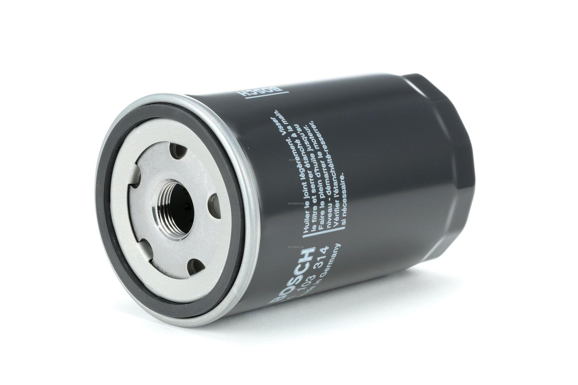 P3314 BOSCH Anschraubfilter Ø: 76,1mm, Höhe: 124mm Ölfilter 0 451 103 314 günstig kaufen