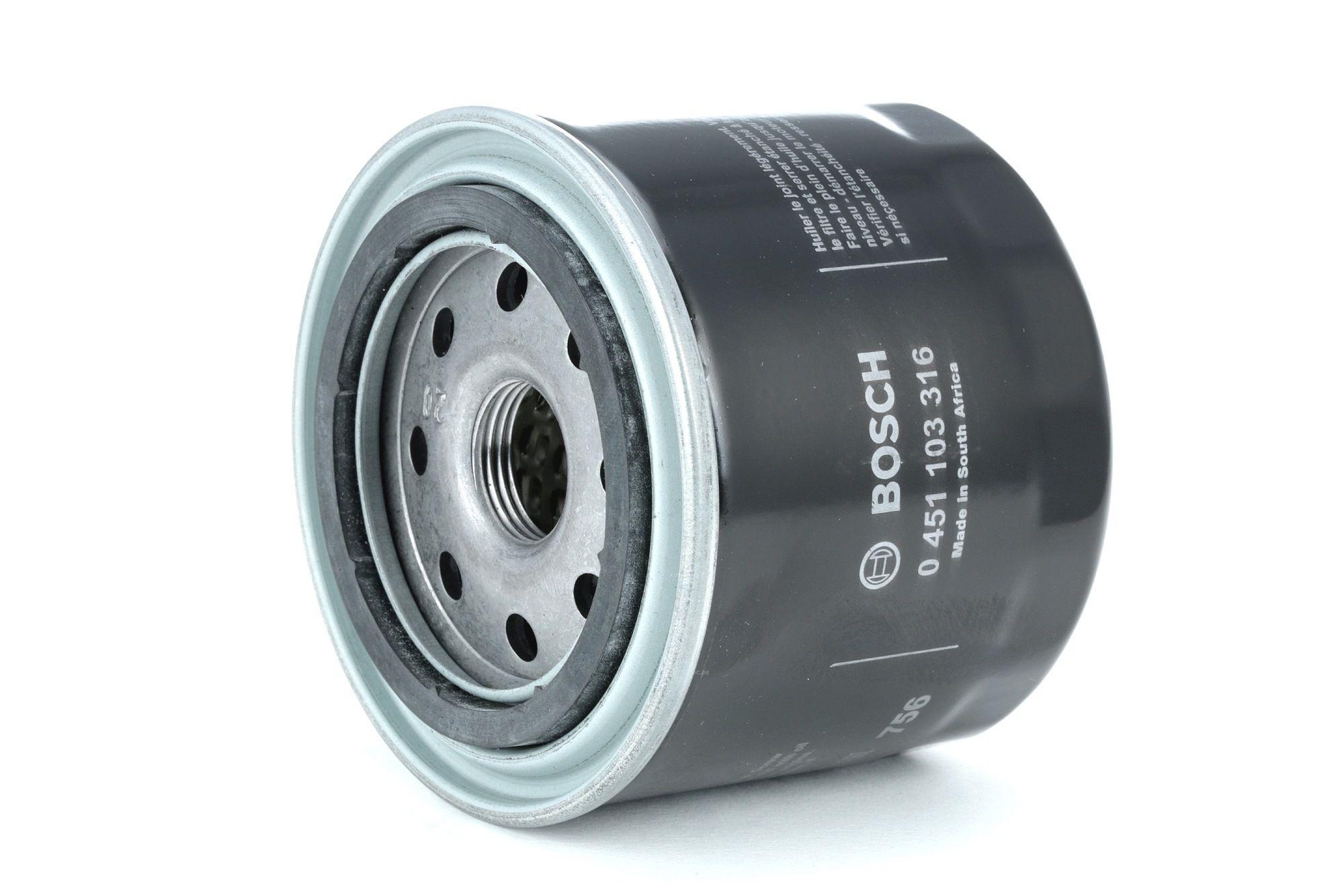 BOSCH: Original Kfz-Filter 0 451 103 316 (Ø: 82mm, Höhe: 72mm)