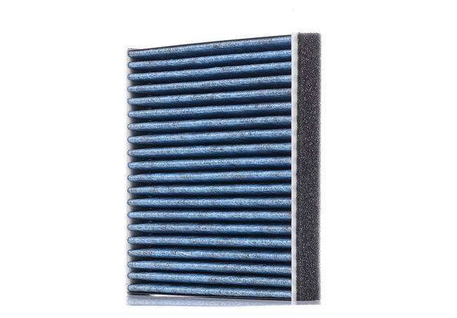 LAK490 MAHLE ORIGINAL mit antiallergischer Wirkung, mit antibakterieller Wirkung, Aktivkohlefilter, CareMetix® Breite: 209,0mm, Höhe: 28,0mm, Länge: 195,0mm Filter, Innenraumluft LAO 490 günstig kaufen