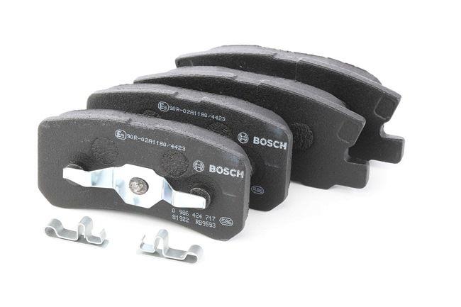 Brake Pad Set, disc brake 0 986 424 717 for DODGE CALIBER — get your deal now!