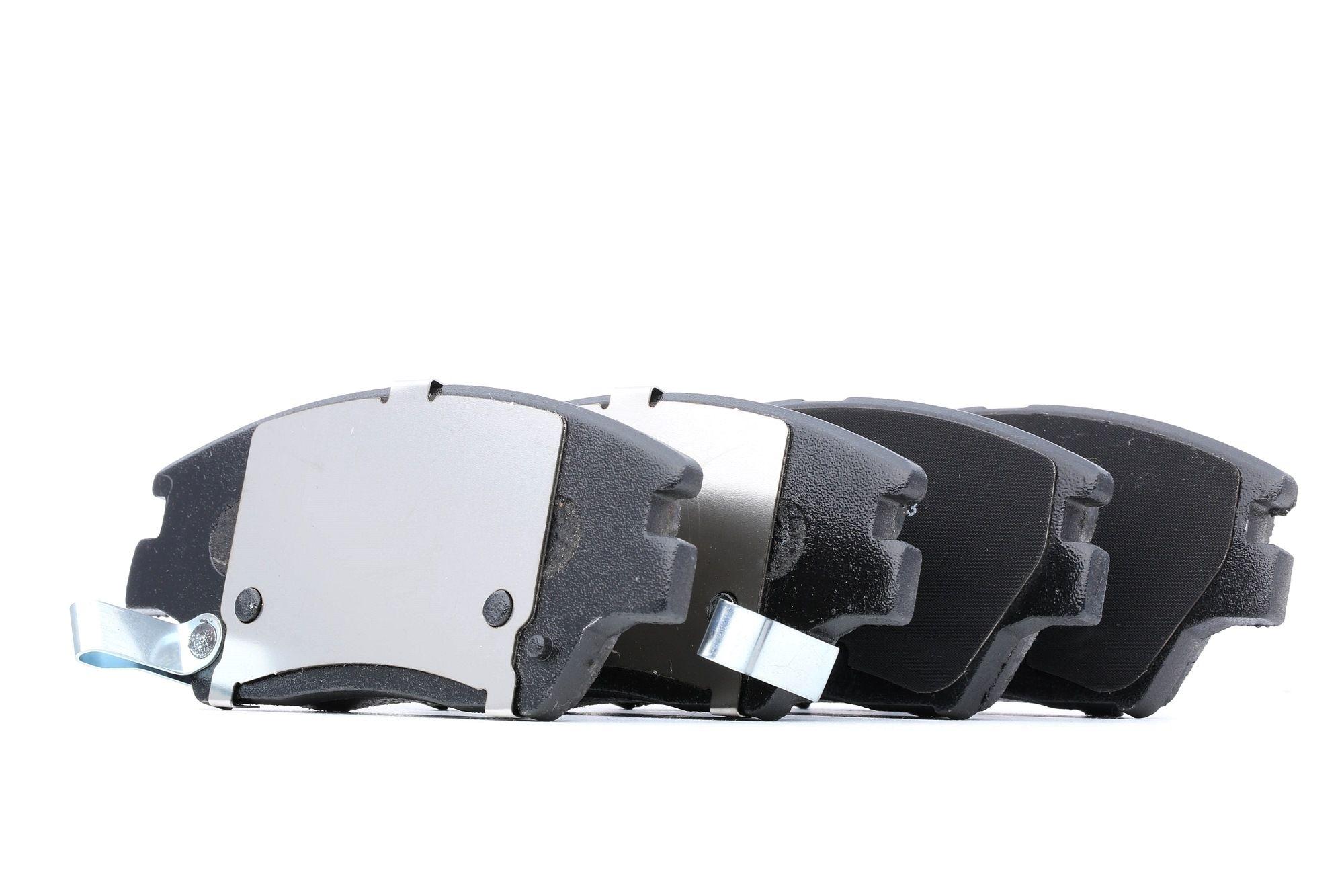 SSANGYONG TIVOLI 2016 Bremsbeläge - Original DELPHI LP3263 Höhe 2: 58mm, Höhe: 58mm, Dicke/Stärke 1: 18mm, Dicke/Stärke 2: 18mm