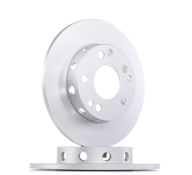 E190R02C03550106 BOSCH Voll, beschichtet, mit Schrauben Ø: 262mm, Lochanzahl: 5, Bremsscheibendicke: 11mm Bremsscheibe 0 986 478 114 günstig kaufen