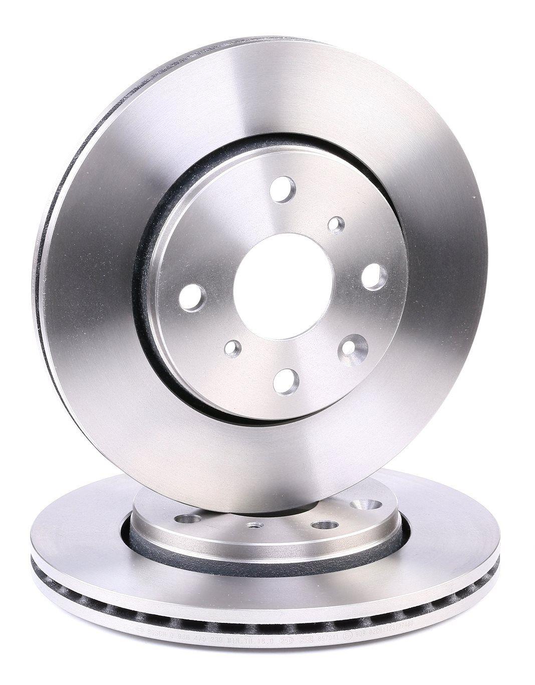 E190R02C01410089 BOSCH belüftet, Innenbelüftet, geölt Ø: 247mm, Lochanzahl: 4, Bremsscheibendicke: 20mm Bremsscheibe 0 986 479 239 günstig kaufen