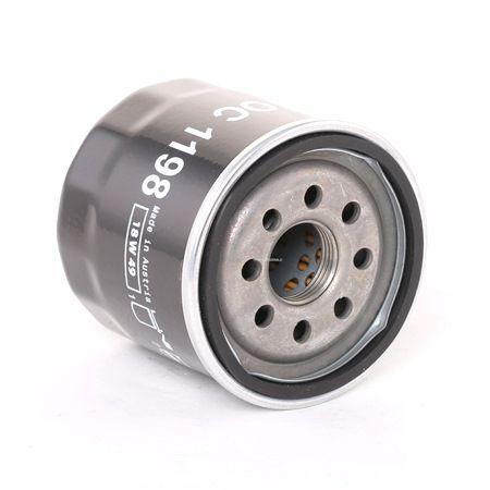 Filtro de óleo OC 1198 — descontos atuais em OE 2630003001 peças sobresselentes de primeira qualidade