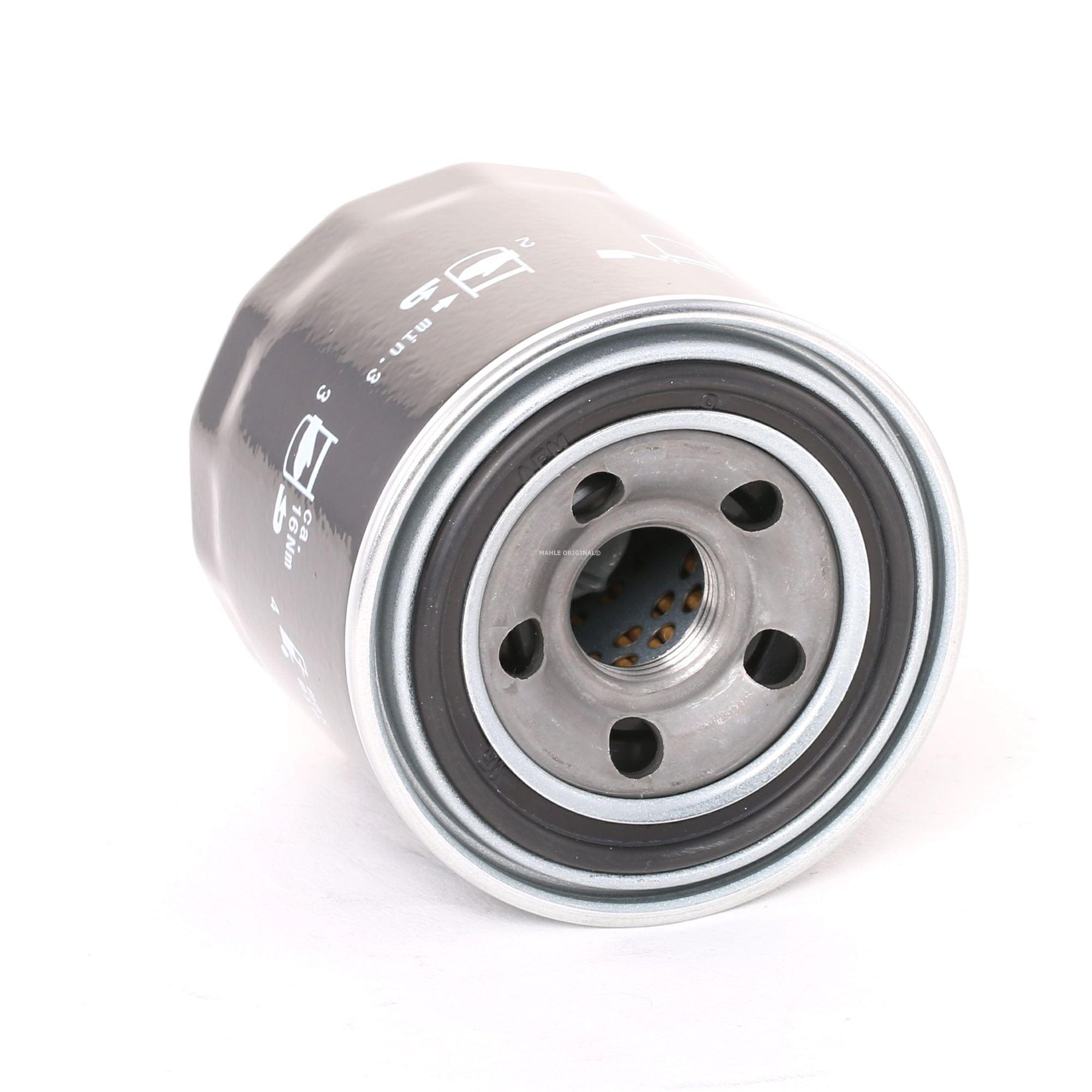 MAHLE ORIGINAL: Original Ölfilter OC 1254 (Innendurchmesser 2: 48mm, Innendurchmesser 2: 48mm, Ø: 76,0mm, Außendurchmesser 2: 63mm, Ø: 76,0mm, Höhe: 80mm)