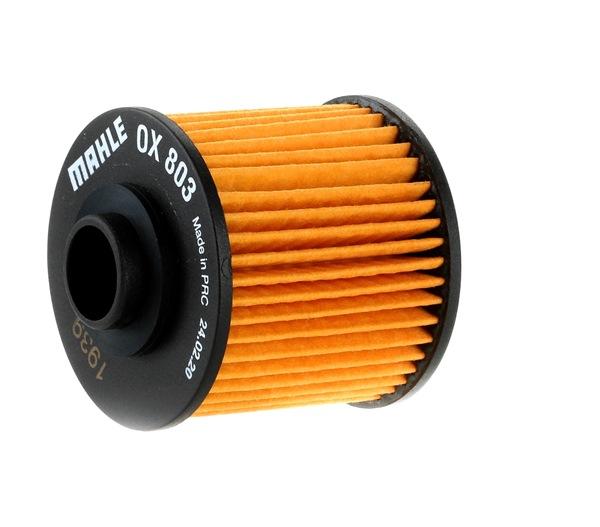 MAHLE ORIGINAL Ölfilter Filtereinsatz OX803