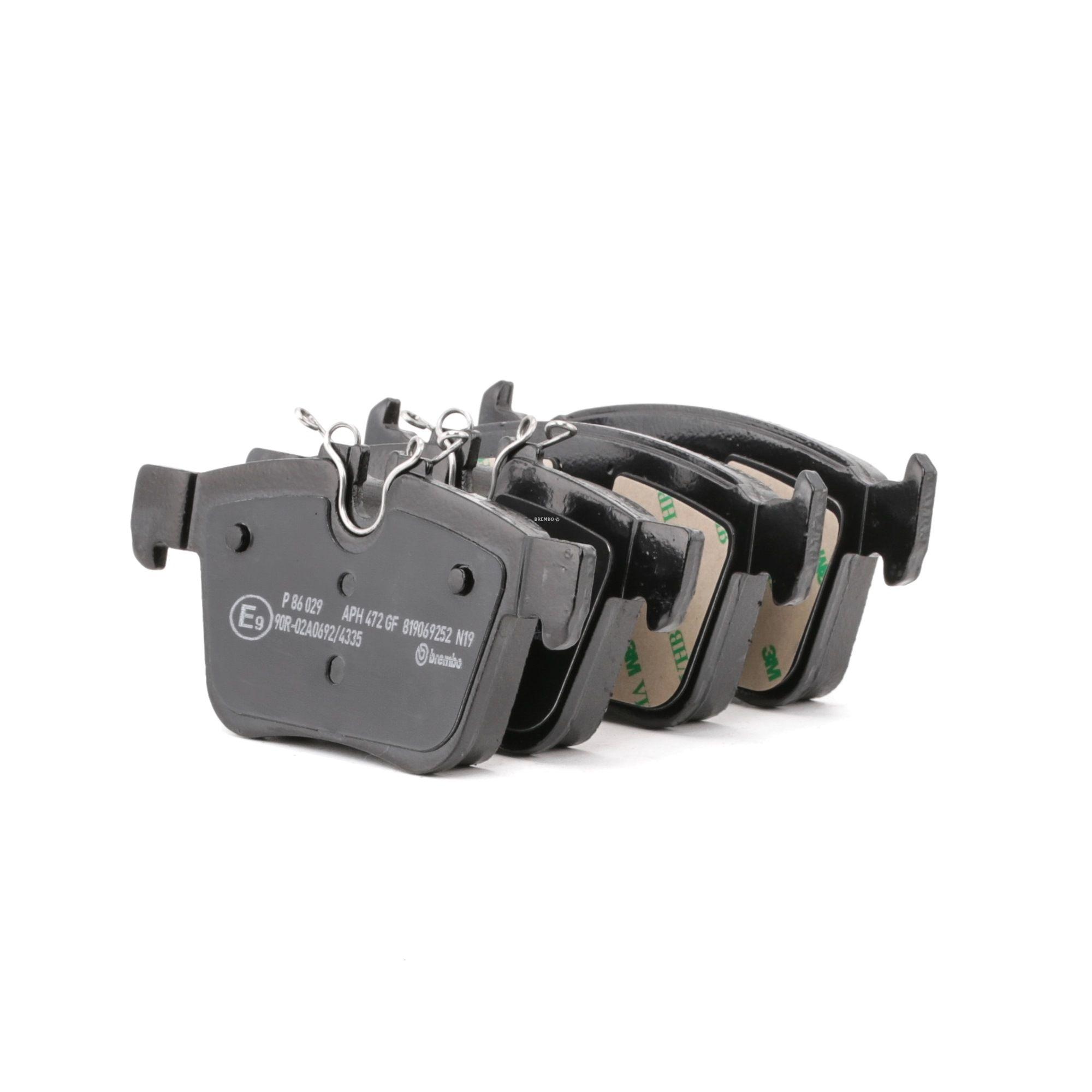 Buy original Racing brake pads BREMBO P 86 029