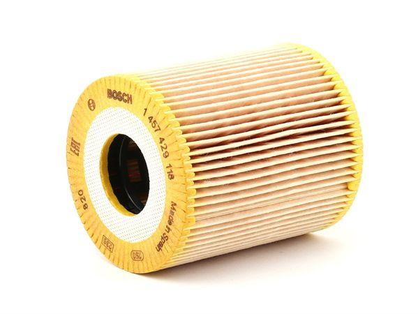 3165143186794 1x Bosch Oil-Filter Element P9118 1457429118