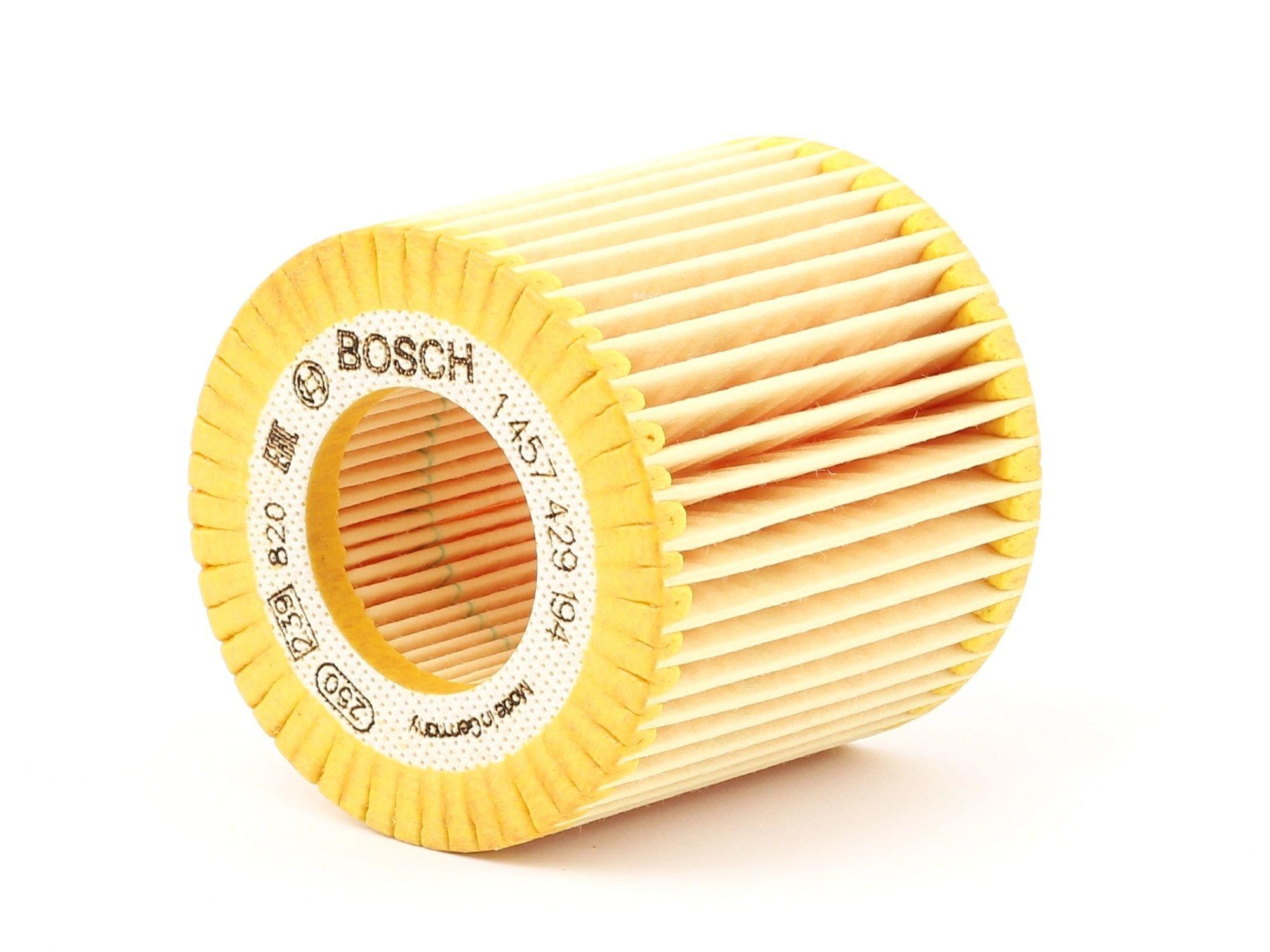 Ölfilter Polo 9n Ersatz 2007 - BOSCH 1 457 429 194 (Ø: 63,5mm, Höhe: 62mm)