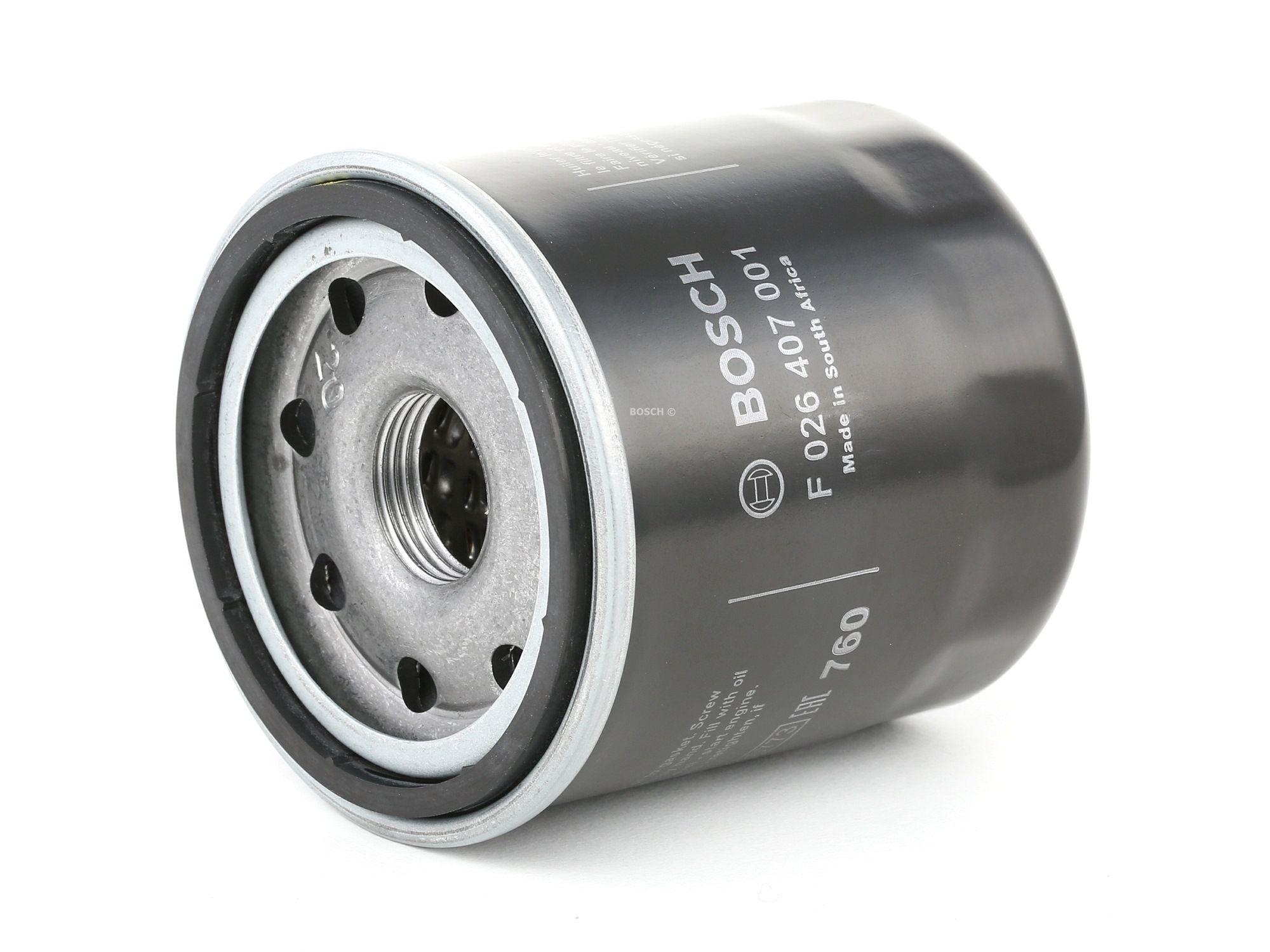 NISSAN ROGUE 2013 Filteranlage - Original BOSCH F 026 407 001 Ø: 65mm, Höhe: 71,5mm