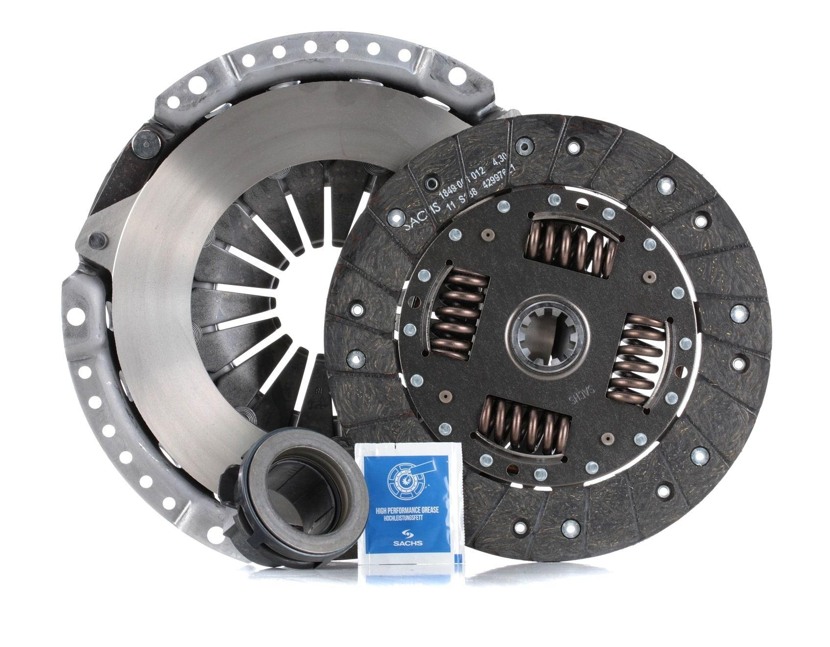 BMW 3 Series 2014 Clutch kit SACHS 3000 950 058: