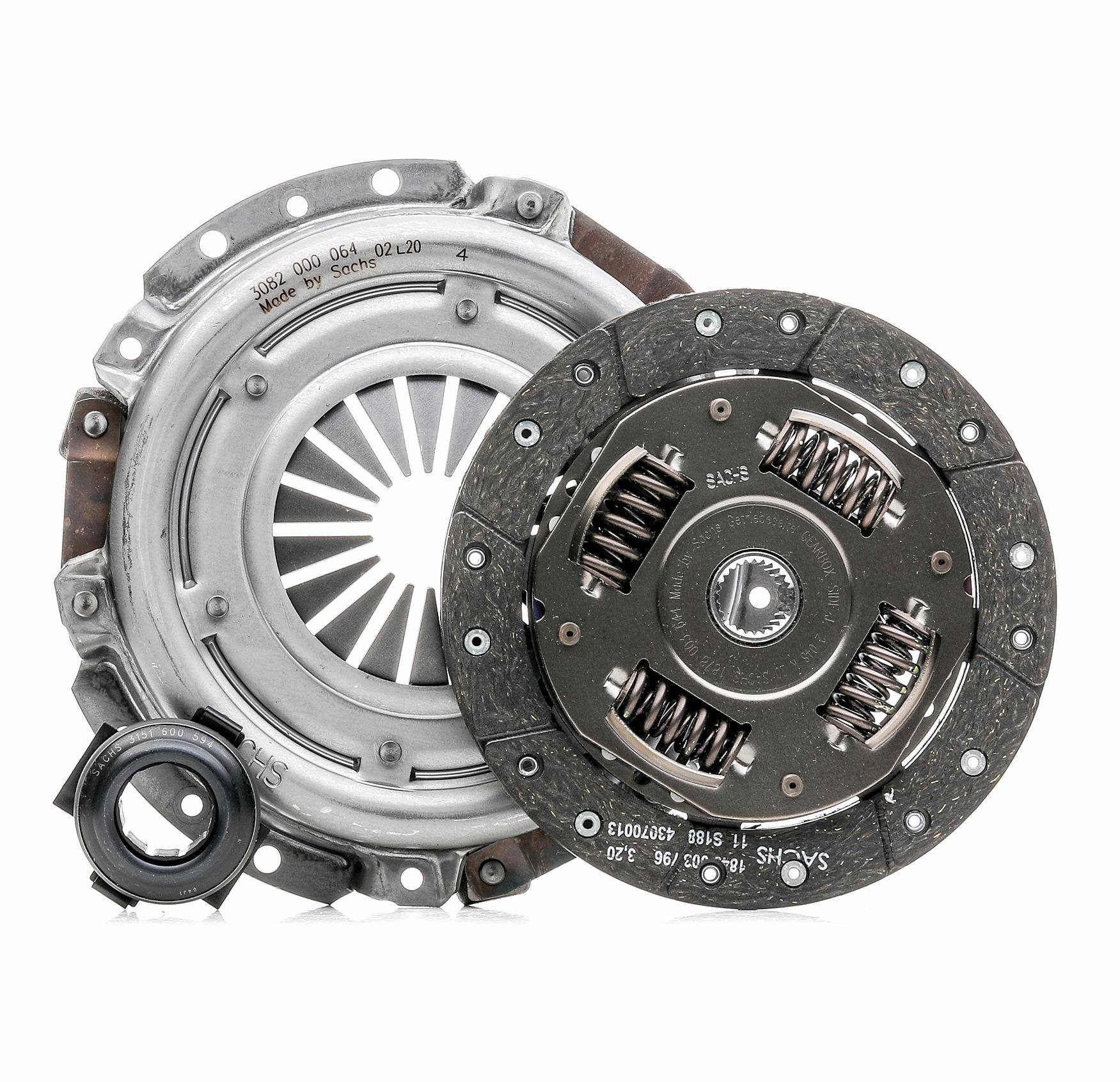 SACHS 3000 951 059 (Ø: 180mm) : Embrayage / composants Renault Kangoo kc01 2016