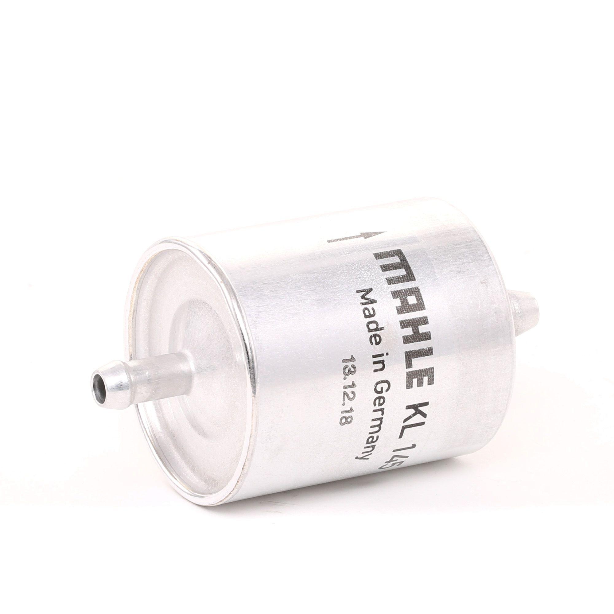 Moto MAHLE ORIGINAL Pijpfilter Hoogte: 94,0mm, Behuizing diameter: 49,6mm Brandstoffilter KL 145 koop goedkoop