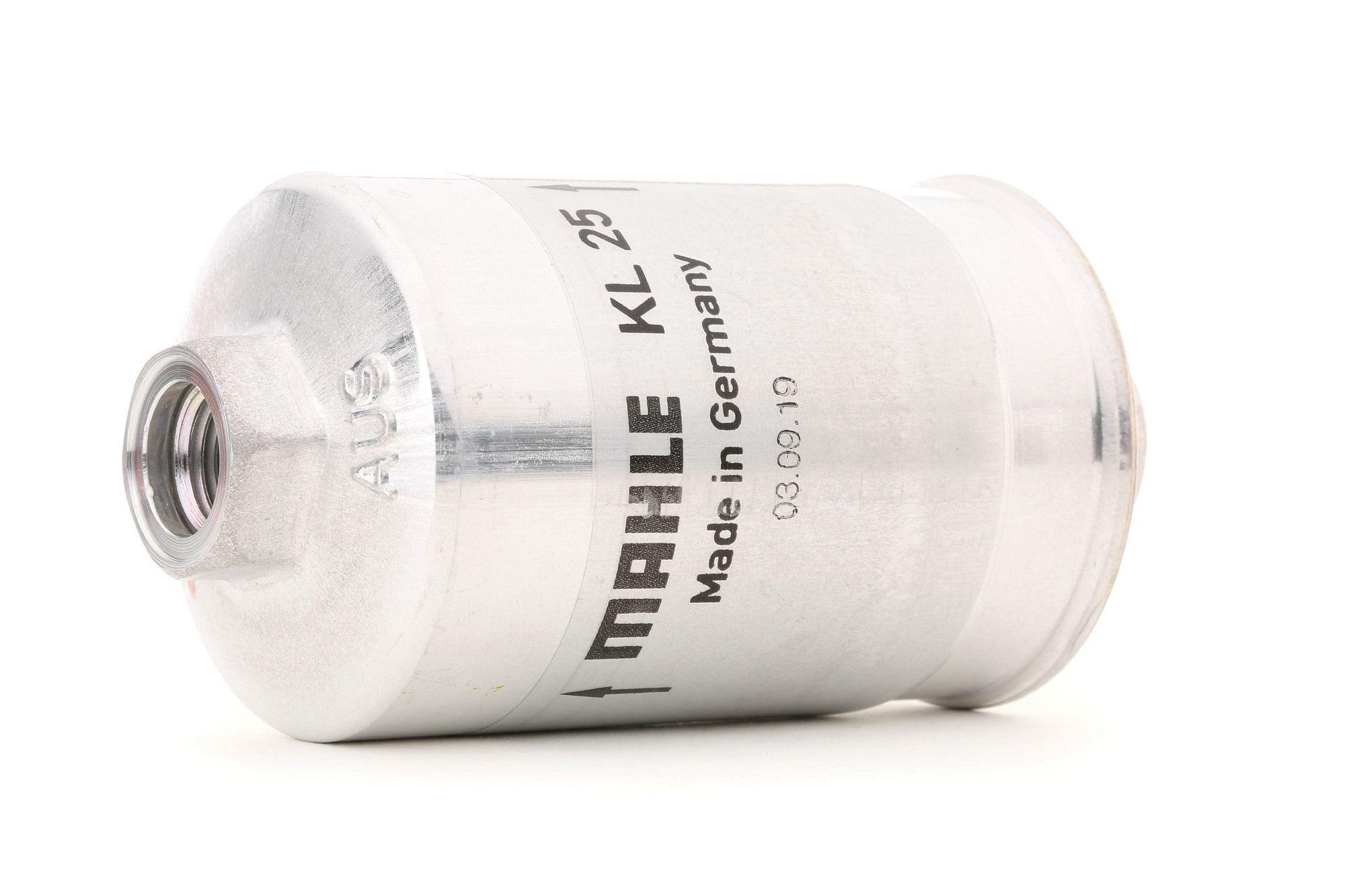 MAHLE ORIGINAL: Original Dieselfilter KL 25 (Gehäusedurchmesser: 55mm)